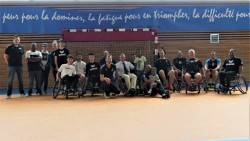 Démonstration Handisport Handball