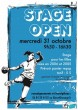 STAGE OPEN 31 OCTOBRE